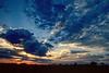 A Pantanal dusk cloudscape.