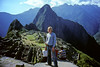 Me overlooking Machu Picchu.  The most spectacular ruin I have visited.