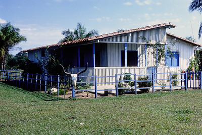 A Pantanal Fazenda. The small ranch houses in the Pantanal region of Brazil reminded me of similar dwellings in rural Montana. Living in remote rural areas has its charms all over the planet.