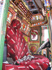 interior of a traditional Pakistan truck