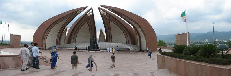 Pakistan monument (Islamabad)