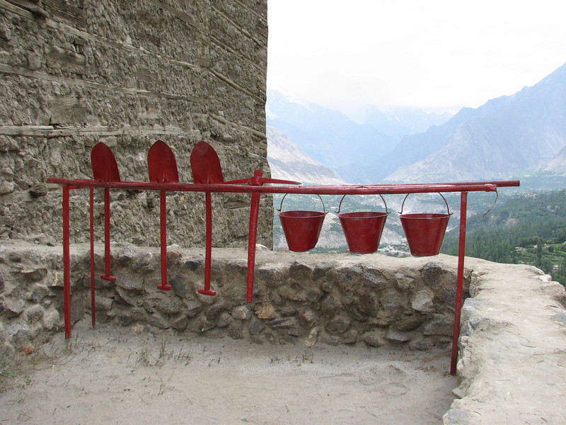 fire protection tools (Baltit Fort Karimabad)