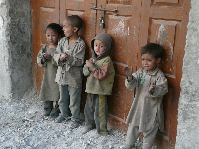 Pakistani children (Skardu 2268m.)