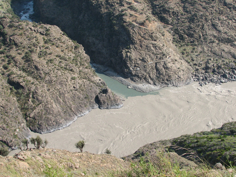 Indus river (near Chilas)