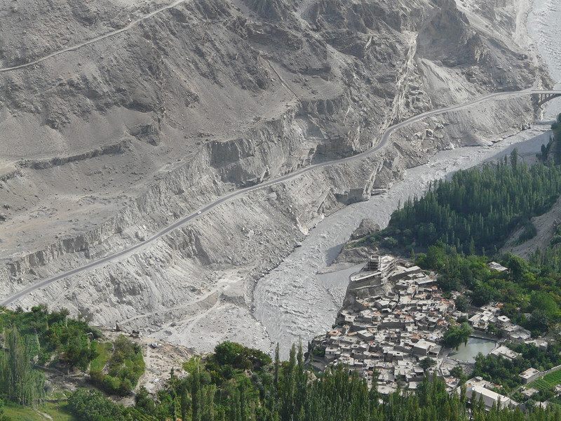 Hunza valley with Karimabad