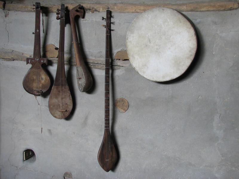 Hunza music instruments (Baltit Fort Karimabad)