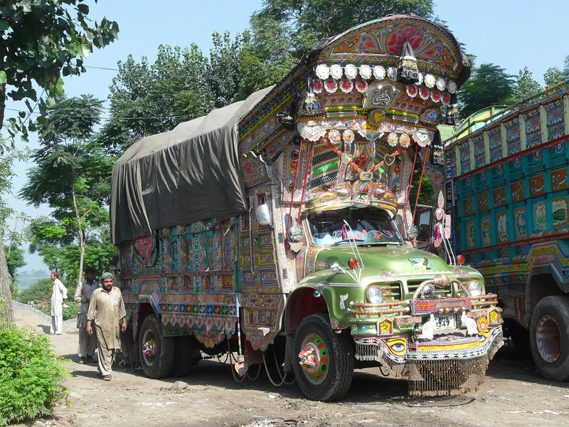 traditional Pakistan truck