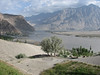 view from the Concordia motel to the Indus (Skardu)