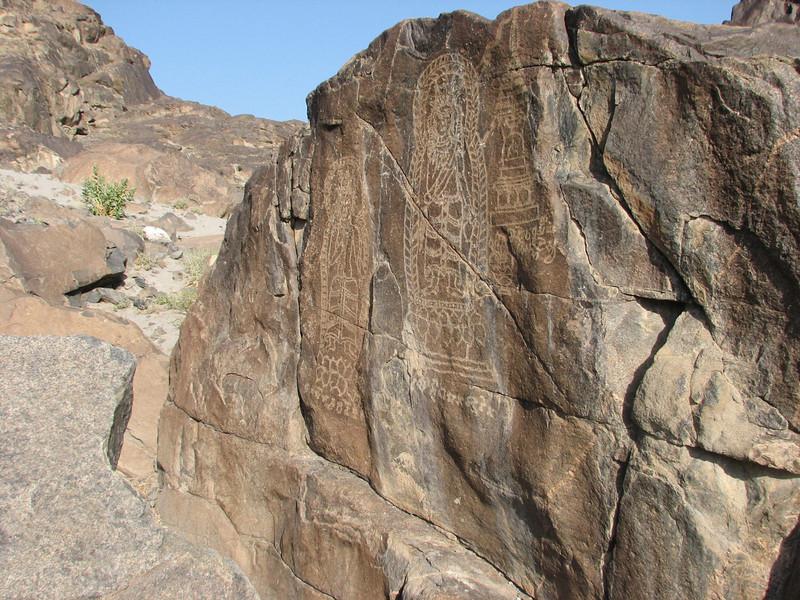 Rock carvings (Kargah Nullah 10 km from Gilgit)