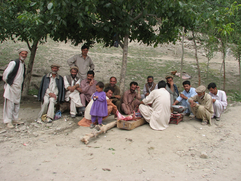 buy a piece of meat  (near Karimabad)