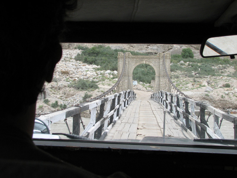 view from the jeep (Indus Valley)