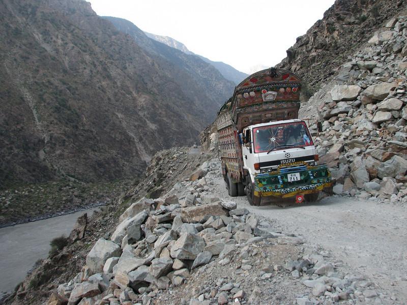 Indus river and Karakorum highway (Chilas - Karimabad)