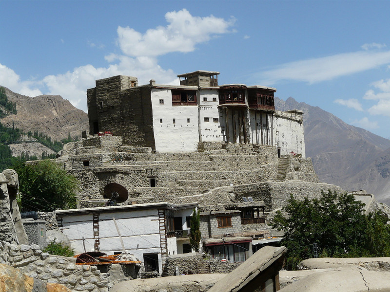 Baltit Fort, 14th century, above Hunza Valley (Karimabad)