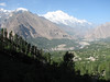 Indus valley with Rakaposhi 7788m.