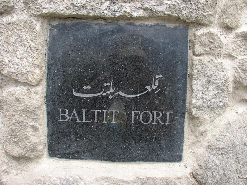 Baltit Fort Hunza Valley (Karimabad)