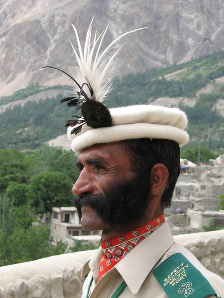 security officer (Baltit Fort Karimabad)