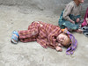 sleeping child (Skardu 2268m.)