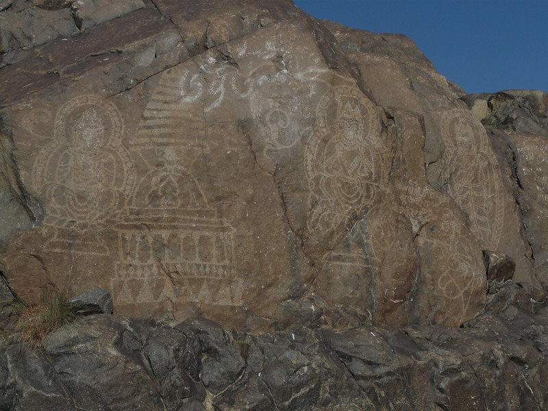 Ancient site of Rock carvings