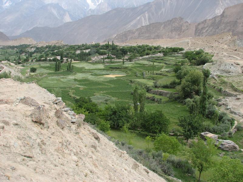 irrigation works of Karimabad