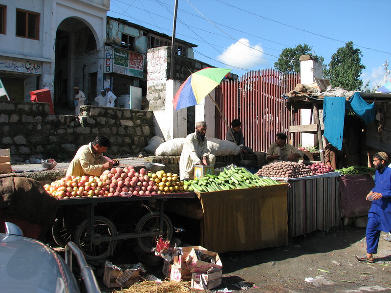 fruit and vegetable for sale (near Islamabad 528m.)