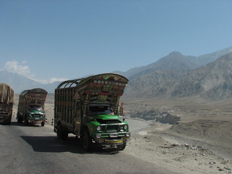 Karakorum highway  (Chilas - Gilgit)