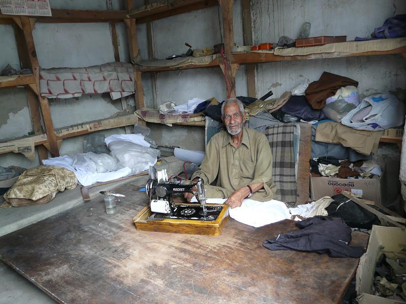 tailor workshop (Skardu 2268m.)