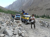 instabile bridge......delay (Hushue 3050m. - Skardu 2268m.)