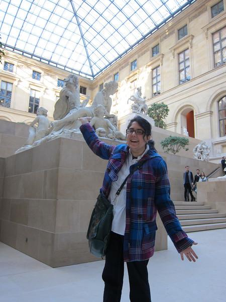Louvre'd