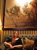 Fionnuala at Le Bar with Le Ponies