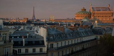 Sunrise over Paris