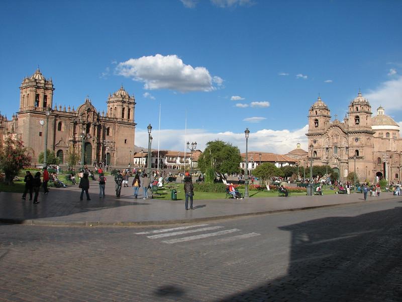 Center of Cusco, Plaza de Armas (Peru 2009, Cusco 3360m. )