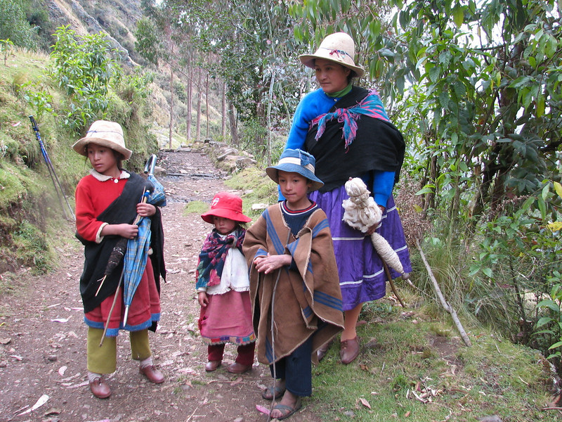 family (Peru 2009, Cordillera Blanca)