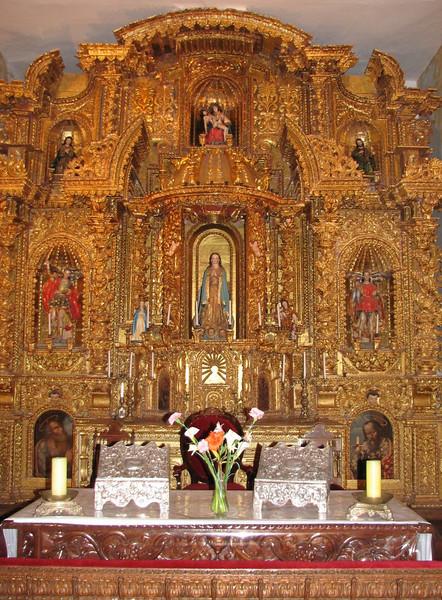 """Museo de Arte Religioso"" (Peru 2009, Cusco 3360m. )"