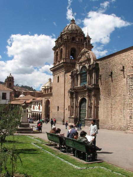 Iglesia La Merced 1650 (combination of Barok and Renaissance style) (Peru 2009, Cusco 3360m.)
