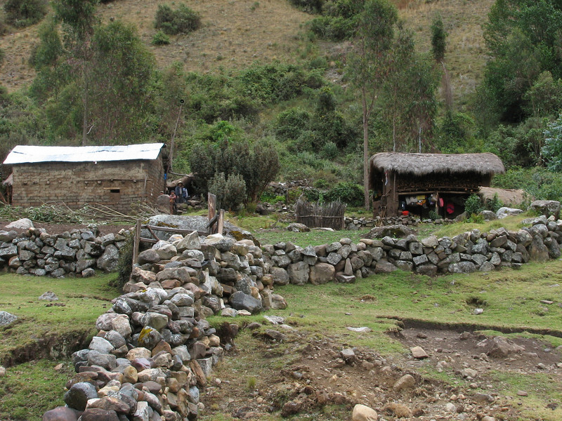 Small villages (Peru 2009, Cordillera Blanca)