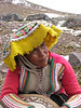 local women with self-made dressing (Peru 2009, Nevado Ausangate)