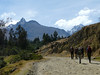starting the trek (Peru 2009, Cordillera Blanca)