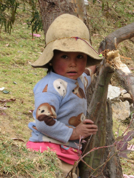 Girl (Peru 2009, Cordillera Blanca)