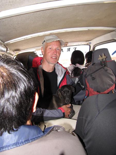 """Hoover"" stays with us (Peru 2009, Pomabamba 2950m, Cordillera Blanca)"