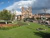 Plaza de Armas (Inca time: Huacapata) and Iglesia La Compania (Peru 2009, Cusco 3360m. )