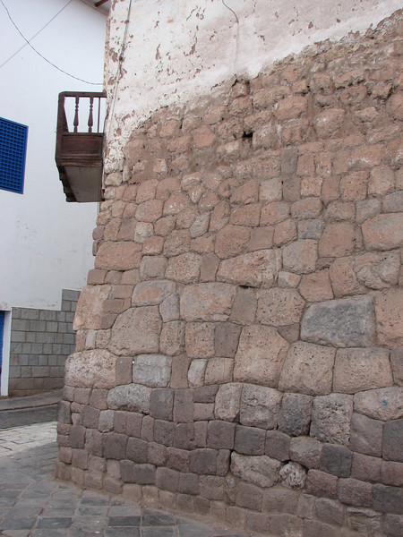 Inca stone work (Peru 2009, Cusco 3360m.)