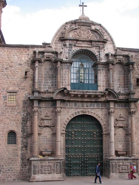 chapel with the popular Virgin Mary (Peru 2009, Cusco 3360m. )
