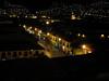same view at night (Peru 2009, Cusco 3300m.)