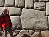 Most famous stone of the Inca wall (Peru 2009, Cusco 3360m. )