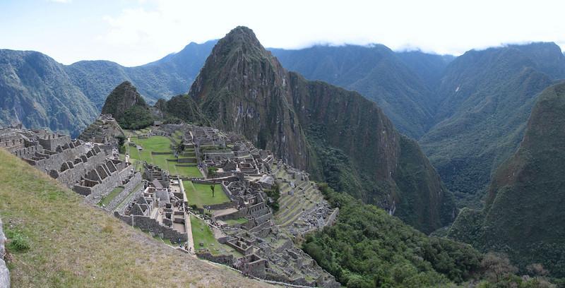 panorama Machu Picchu (Peru 2009, Machu Picchu 2430m.)