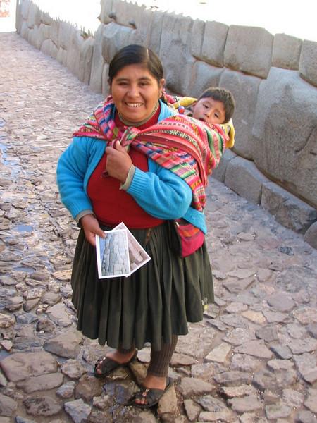 Local guide (Peru 2009, Cusco 3360m. )