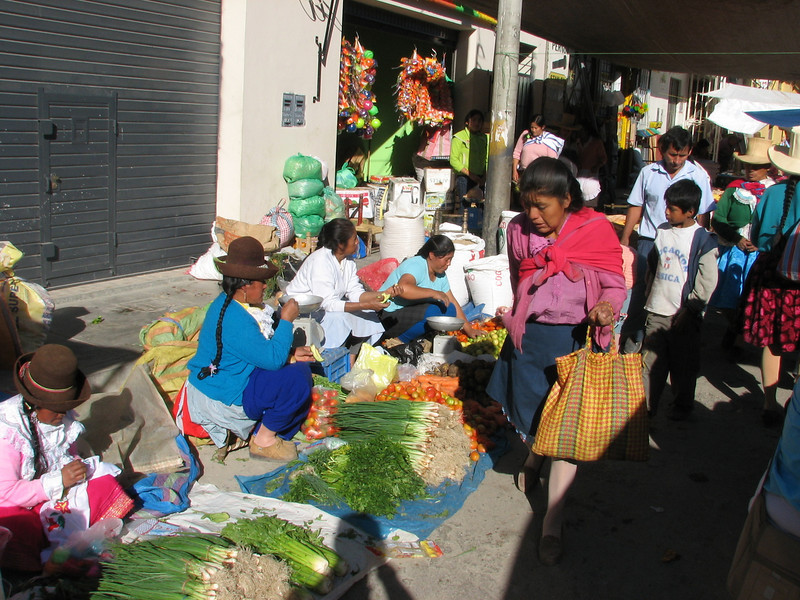 The Sunday market (Peru 2009 Caraz (2290m))