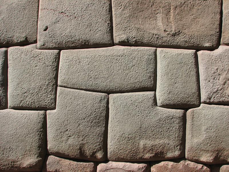 Street: Hatum- Rumiyoc, wall of the sun temple (Peru 2009, Cusco 3360m. )