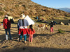 Locals are interested in our camp (Peru 2009, Cordillera Blanca)