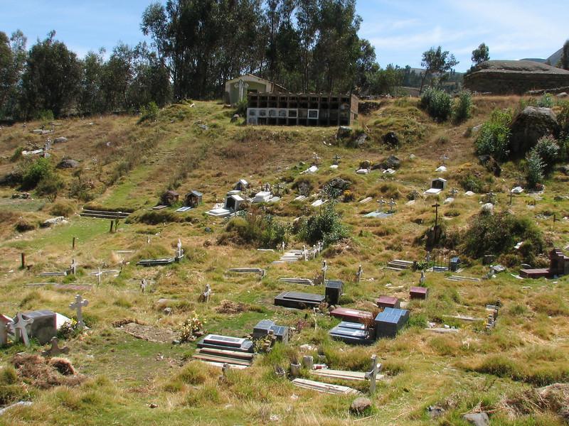 Cemetery (Peru 2009, near Huaraz (3090m.))